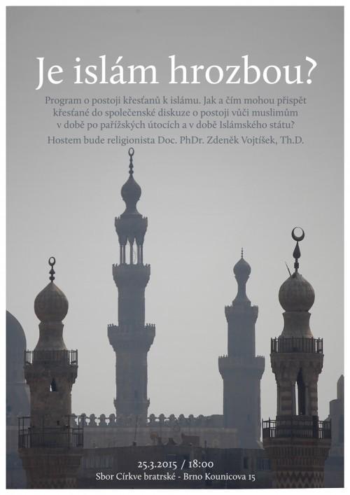 Je islám hrozbou?