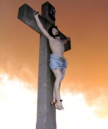 Ježíš na kříži