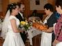 Svatba Lenky Franců a Karla Navrátila