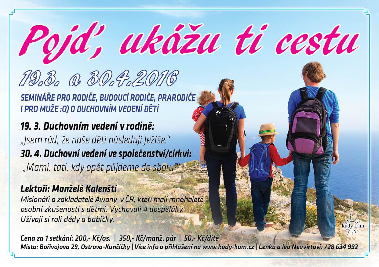semináře pro rodiče o duchovním vedení dětí