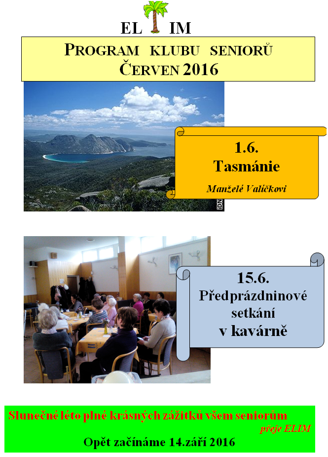 Klub seniorů červen 2016