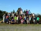 Část naší sborové rodiny